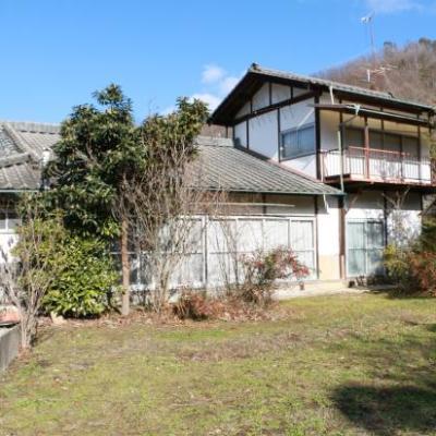 【売買】400万円 長野県東筑摩郡生坂村 広い廊下・縁側のある2階建古民家 農地700㎡付き