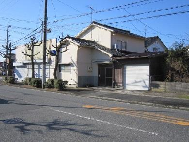 【売買】500万円 鳥取県境港市元町 倉庫兼多目的スペース・車庫付き2階建 上下水道