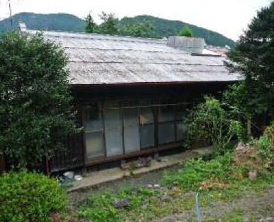 【売買】200万円 静岡県榛原郡川根本町田代 谷川沿いでのどかな集落 物置付き2階建古民家