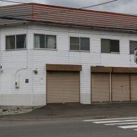 【売買】250万円(応相談) 北海道赤平市西文京町3丁目 利便性高い角地の店舗付き2階建 駐車場有・コンビニそば