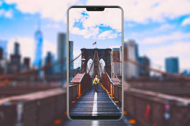 0 LG G7 ThinQ конкурент Samsung Galaxy S9 на изображениях с шести сторон