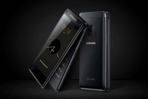 Премиальная раскладушка Samsung W2019: технические ...