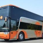 盛岡~宮古線で2階建てバス運行開始