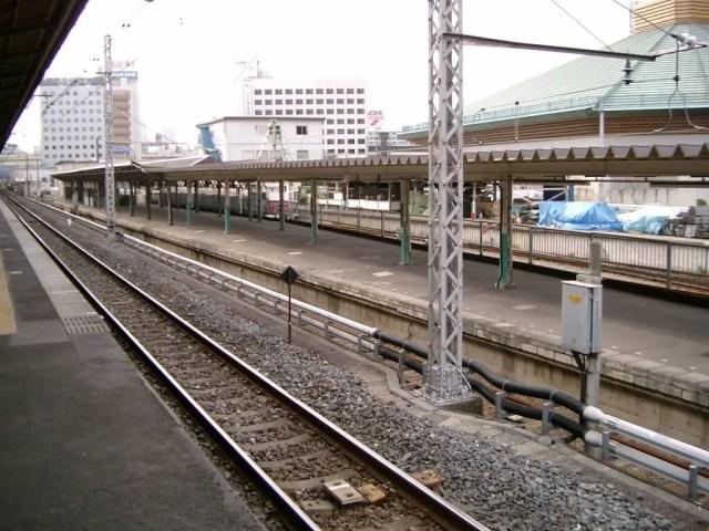 両国駅 3番線ホーム