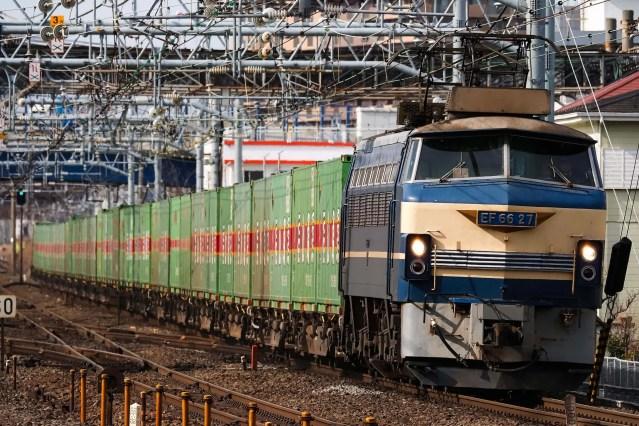 【また撮り鉄】EF66-27撮影で撮り鉄が線路内侵入→朝ラッシュ時の東海道線など大幅遅延