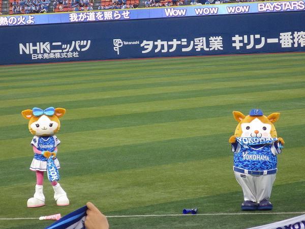 スターマンとキララ:横浜スターナイト仕様