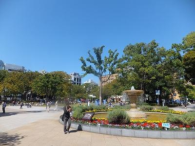 横浜公園:横浜スタジアムがある小さな公園
