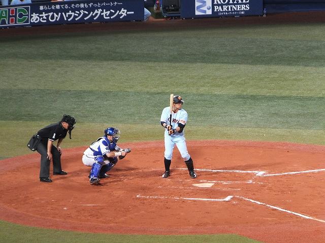 巨人に移籍した相川選手:元横浜ベイスターズ