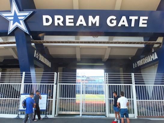DREAMGATE朝のハマスタキャッチボール無料開放!