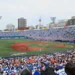 東京ヤクルトスワローズ戦:横浜スタジアム