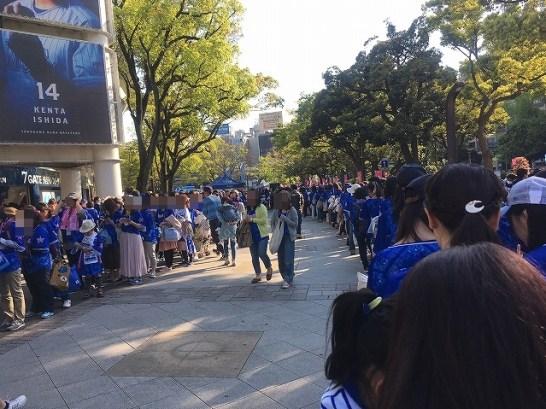 選手握手会に行列!横浜DeNAガールズフェスティバル