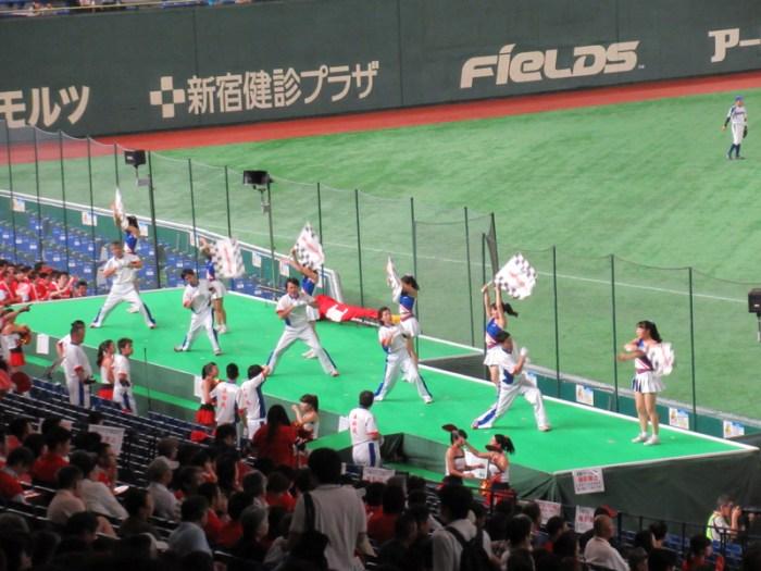 HONDAの応援の様子:東京ドーム都市対抗野球