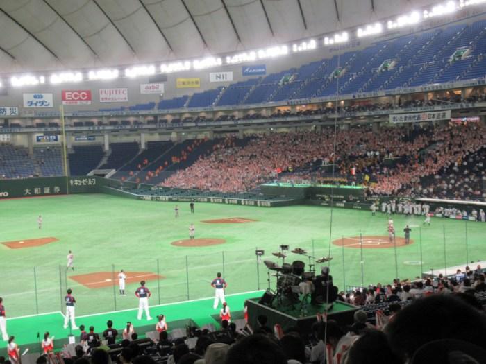 都市対抗野球・東京ドーム準決勝の様子