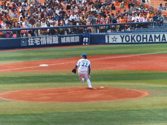 横浜DeNAベイスターズ初代開幕投手:高崎健太郎