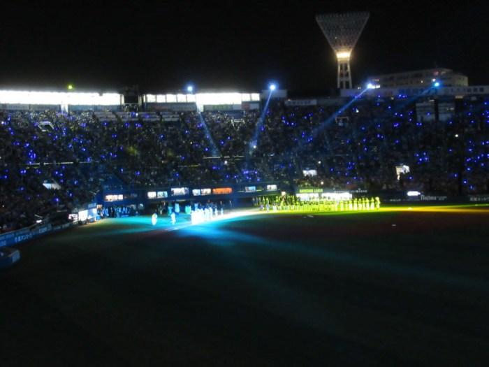 オープニングセレモニー:2017年横浜スタジアム日本シリーズ第3戦