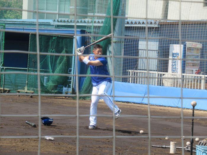 田中浩康選手・横浜DeNAベイスターズ