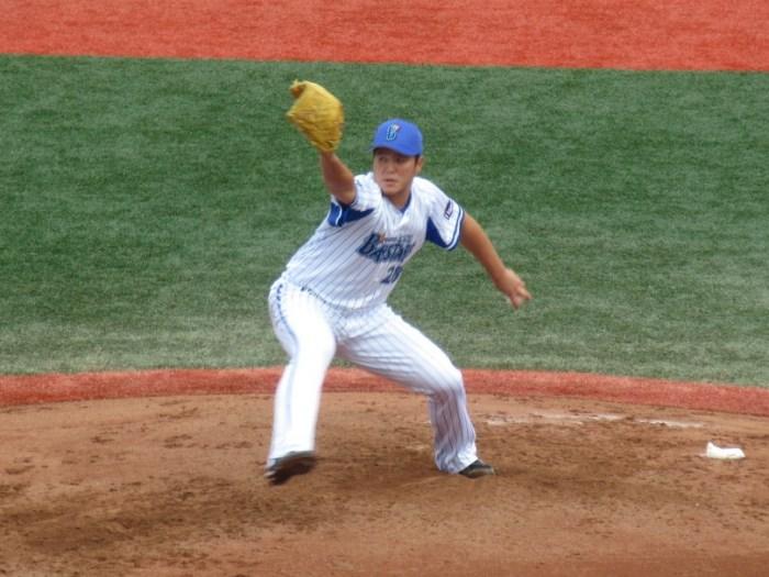 佐野元春投手:横須賀スタジアム最終戦2018