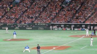 東克樹VS菅野智之・東京ドーム