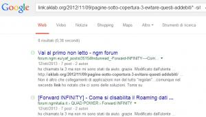 esempio di utilizzo dei tag links e -site