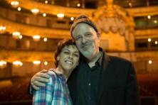 Kara Wilkes and Robert Rosenwasser, photo by Franck Thibault