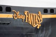 The Disney Fantasy starboard