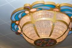 Disney Fantasy lobby light fixture