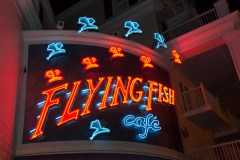Flying Fish Cafe sign