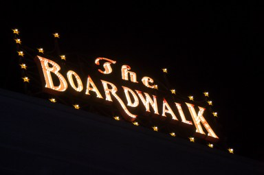 The Boardwalk sign