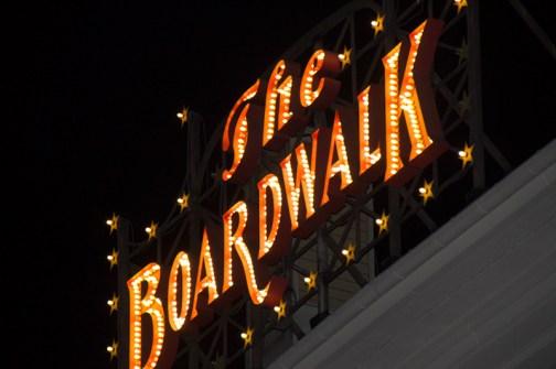 The Boardwalk sign