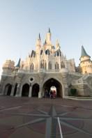 Behind Cinderella's Castle