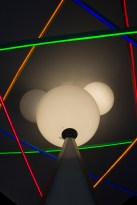 Mickey's Star Traders light display