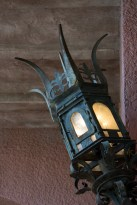 Hollywood Tower Hotel light fixture