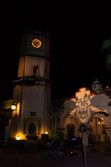 Pirates of the Caribbean clock tower