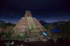 Mayan pyramid in the Mexican pavillion