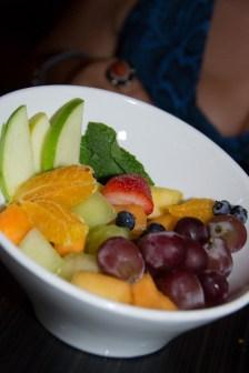Seasonal Fruit Bowl from Cat Cora's Kouzzina at The Boardwalk