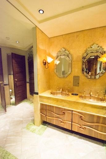 Deck 12 Aft bathroom