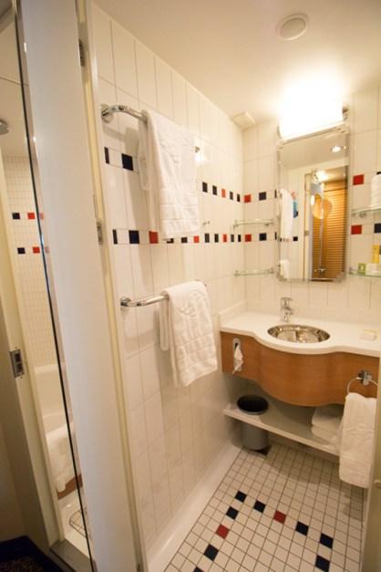 Stateroom 9106 - Bathroom