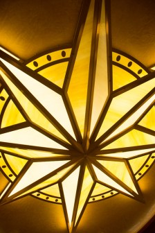 Walt Disney Theatre rotunda light fixture