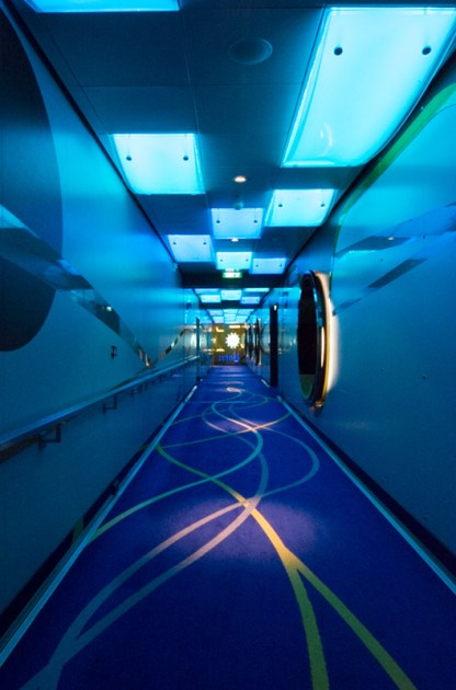Deck 4 hallway