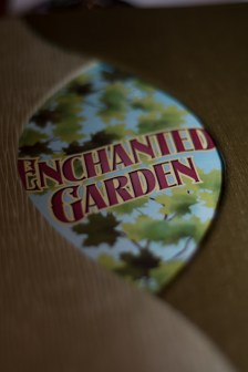 Enchanted Garden menu