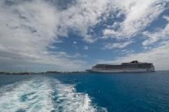 MSC Davina and Grand Cayman Island