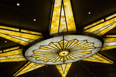 Beuna Vista Theatre lighting fixture