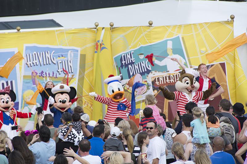 Disney Cruise 2015 Day 1 (1/6)