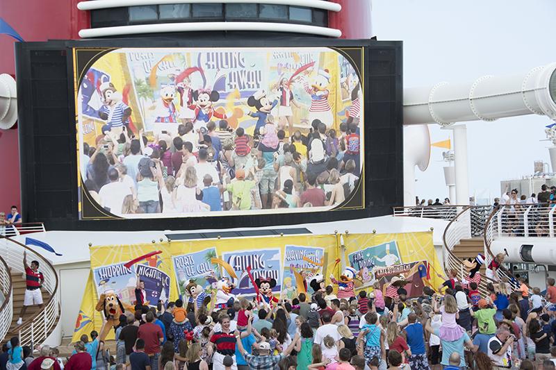 Disney Cruise 2015 Day 1 (2/6)
