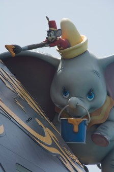 Dumbo on the Disney Fantasy