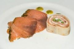 Salmon trio