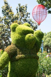 Winnie the Pooh topiary