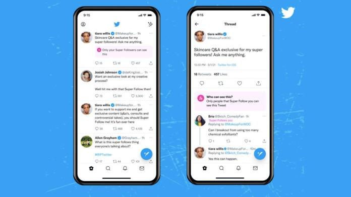 Super Follows to let Twitter users earn money
