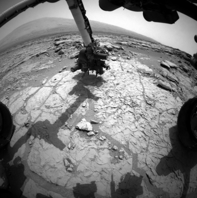 Rock on for Nasa as Curiosity rover on Mars is back in ...