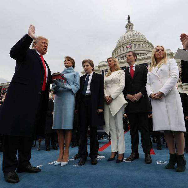 In pictures: 45th US President Donald Trump's swearing-in ...